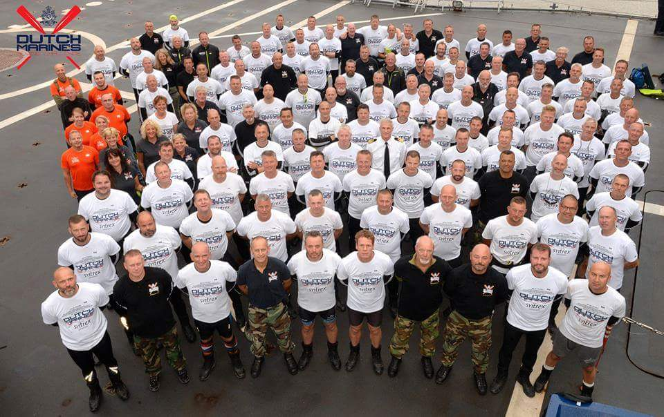 De bikkels van de Dutch Marines Rowing Challenge