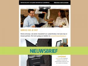 Service die je ziet Nieuwsbrief