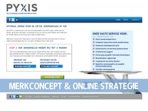 PYXIS Website stap 2