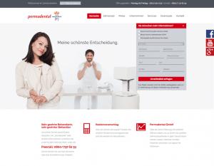 Website voor tandartsen