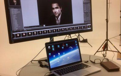 Fotoshoot bij Studio H
