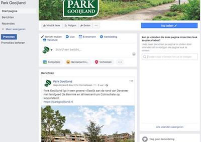Park Gooijland Facebook pagina