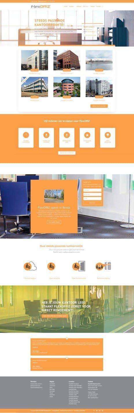 WordPress ondersteuning homepage