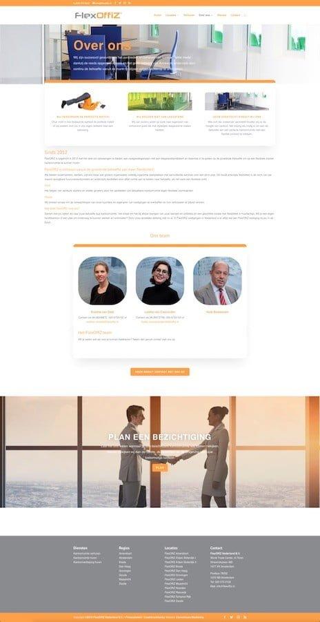 WordPress ondersteuning over ons