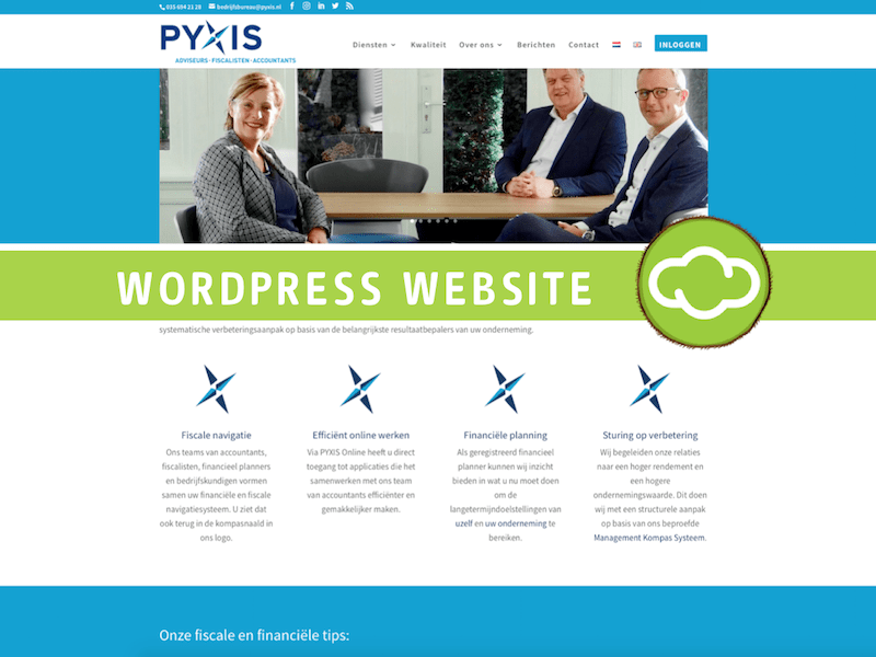 Website PYXIS