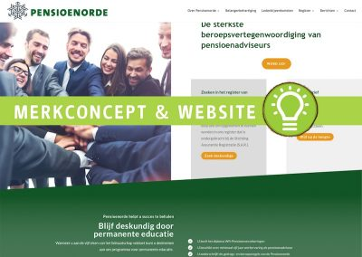 Merk concept & website Pensioenorde