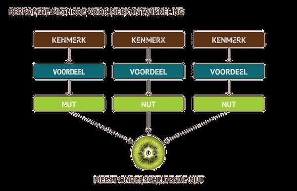 Via kenmerken, voordelen en baten naar het meest onderscheidende nut