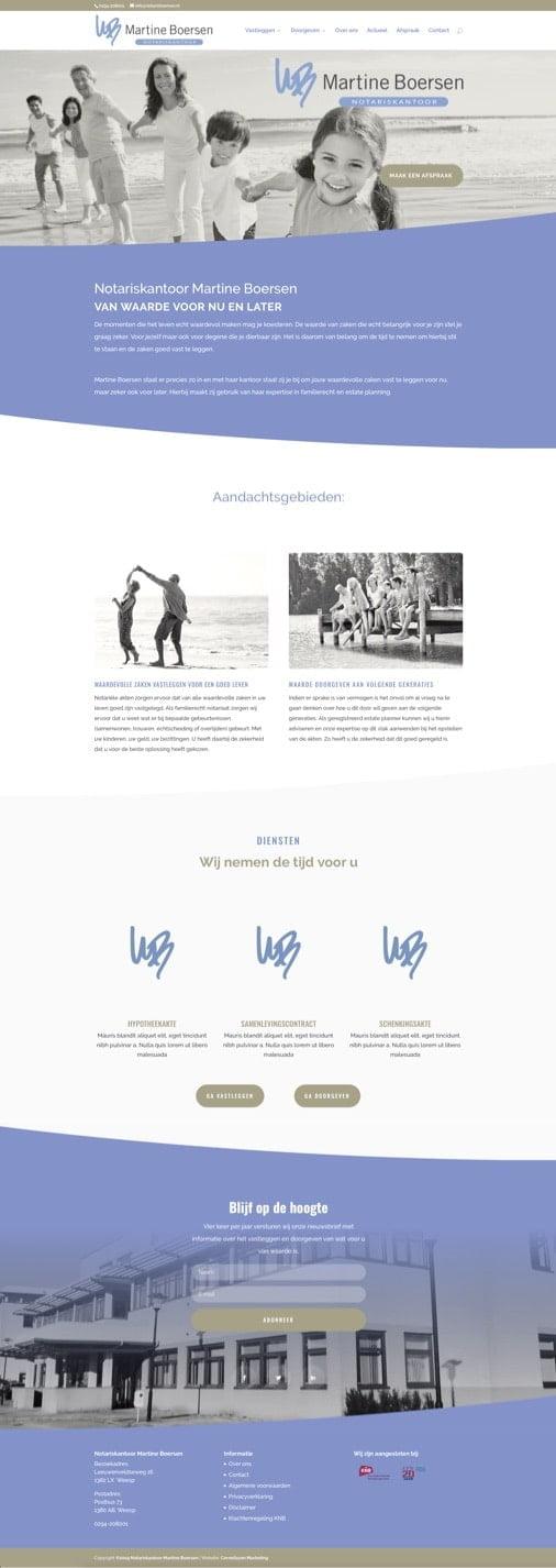 Merkontwikkeling en website