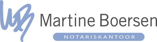 Logo Notariskantoor Martine Boersen