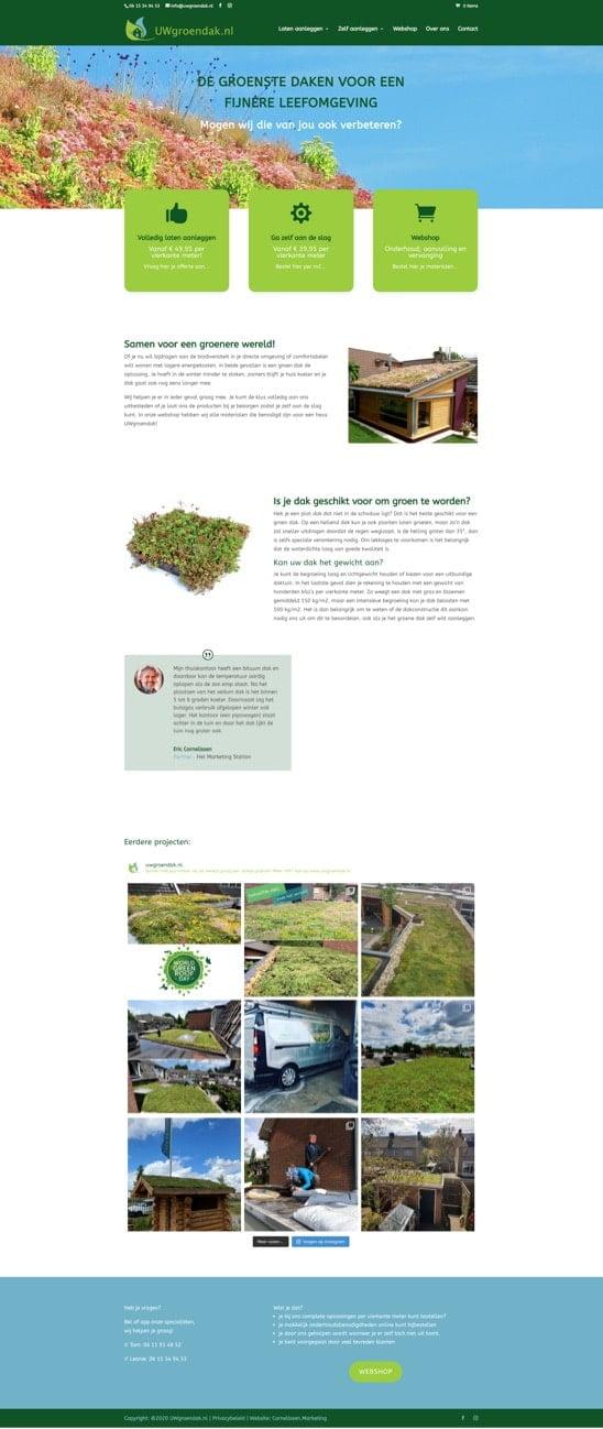 Merkontwikkeling en webshop