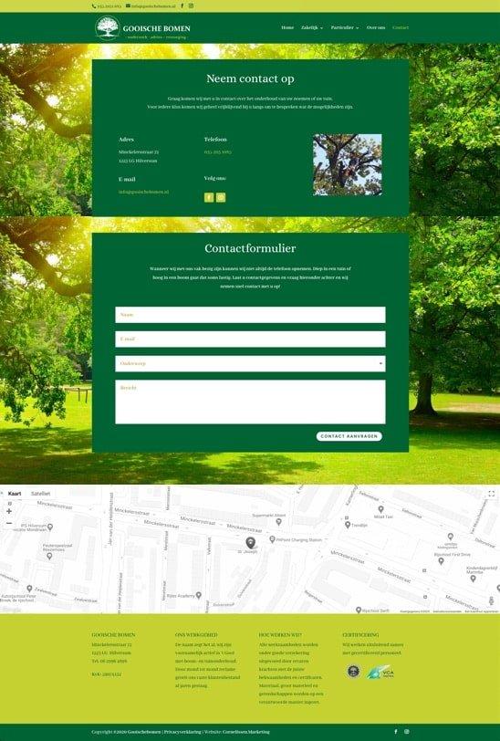 Verbetering website